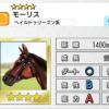 【ダビマス】星4の種牡馬モーリスのステータス