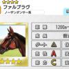 【ダビマス】星4の種牡馬ファルブラヴのステータス