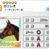 【ダビマス】星5の種牡馬ガリレオのステータス