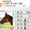 【ダビマス】星5の種牡馬ニッポーテイオー1987のステータス