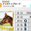 【ダビマス】星4の種牡馬ナリタトップロードのステータス
