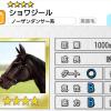 【ダビマス】星4の種牡馬ショワジールのステータス