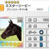 【ダビマス】星5の種牡馬ミスターシービーとミスターシービー1983のステータス