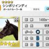 【ダビマス】星4の種牡馬シンボリインディのステータス