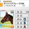 【ダビマス】星5の種牡馬ダンシングブレーヴ1986のステータス