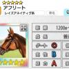 【ダビマス】星5の種牡馬アフリートのステータス