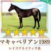 【ダビマス】星5の種牡馬マキャベリアン1989のステータス