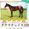 【ダビマス】星5の種牡馬リダウツチョイス1999のステータス