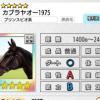 【ダビマス】星5の種牡馬カブラヤオー1975のステータス