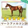 【ダビマス】星5の種牡馬スマートファルコン2011のステータス