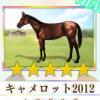 【ダビマス】星5の種牡馬キャメロット2012のステータス