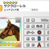 【ダビマス】超決戦!ドリーム有馬記念の報酬星5サクラローレルのステータス