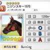 【ダビマス】星5の種牡馬ニジンスキー1970のステータス