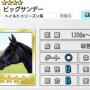 【ダビマス】星4の種牡馬ビッグサンデーのステータス